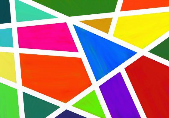 muur verven ideen do it yourself colour block